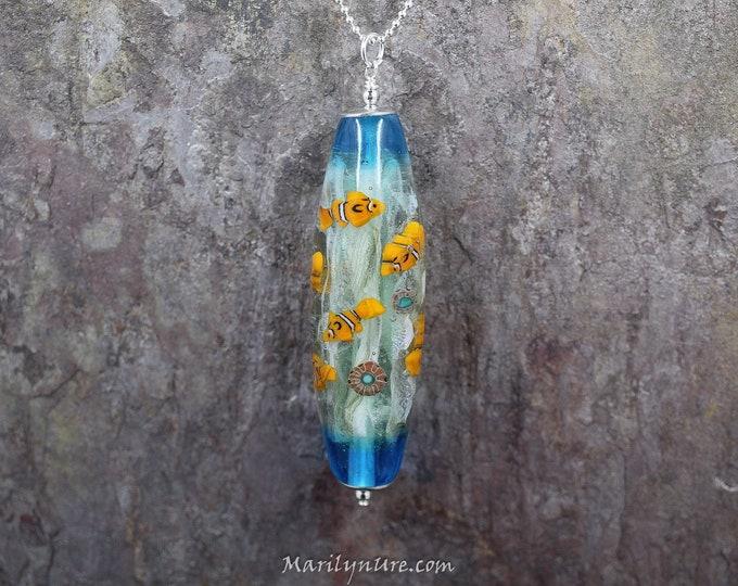 Mermaid Jewelry Underwater Aquarium - Clown Fish Party