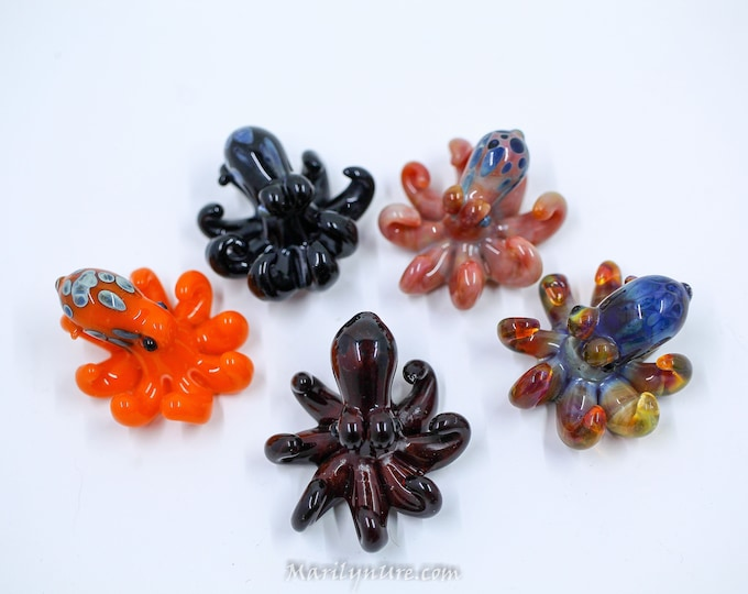 Octo Ring - Individual Little Octos for Pendant/Rings