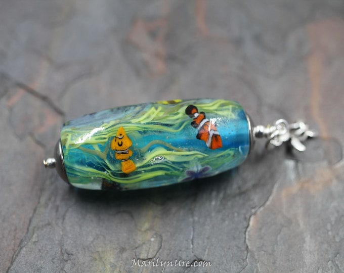 Mermaid Jewelry Underwater Aquarium - Seaweed Garden