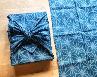 Furoshiki M • japanese asanoha fabric
