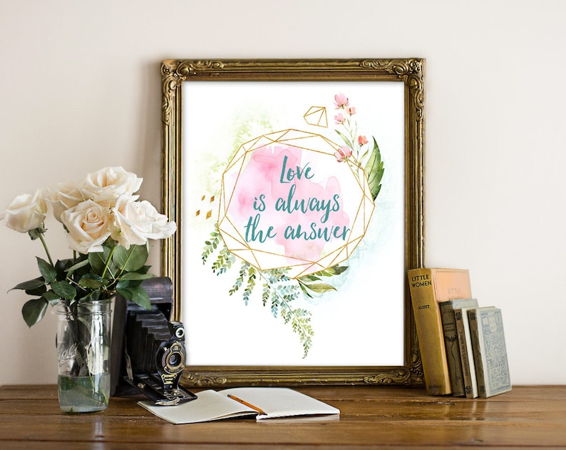 Love Is The Answer  Wuthering Heights Quote Romantic Quote image 0