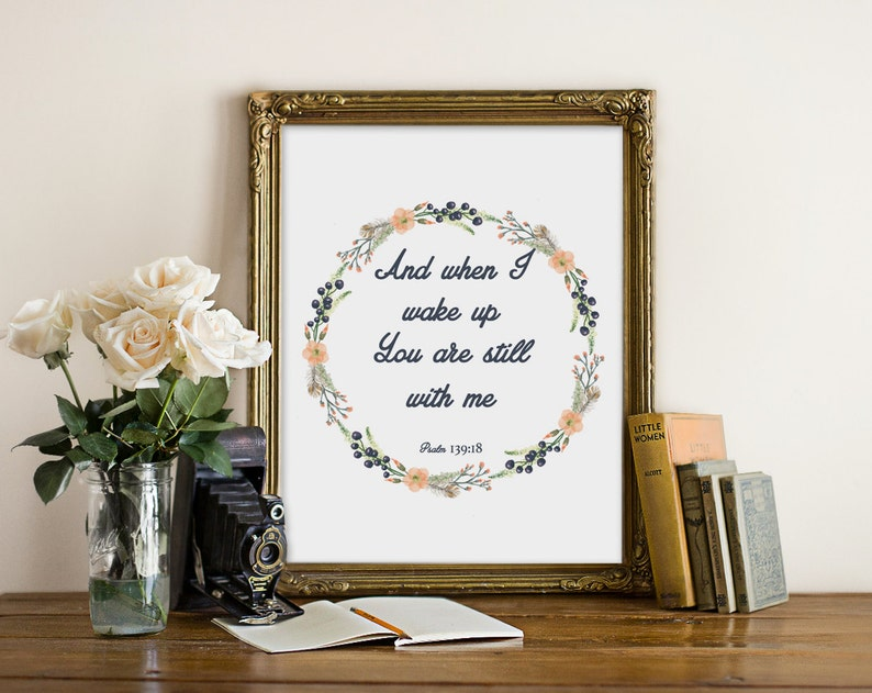 Bible Verse Print wall art quotes quotes poster poster image 0