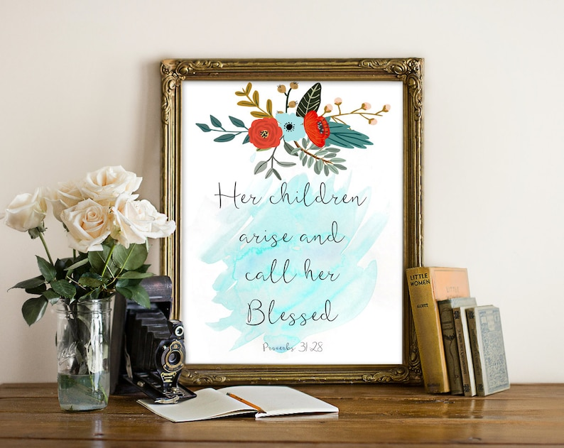 Mother's Day Print wall art quotes quotes poster poster image 0