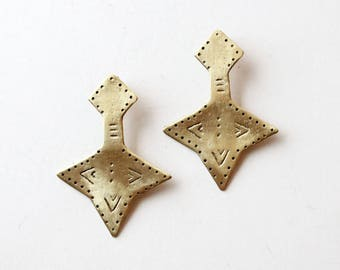 Earrings handmade boho earrings statement earrings bohemian earrings hippie earrings gypsy earrings tribal earrings ethnic earrings