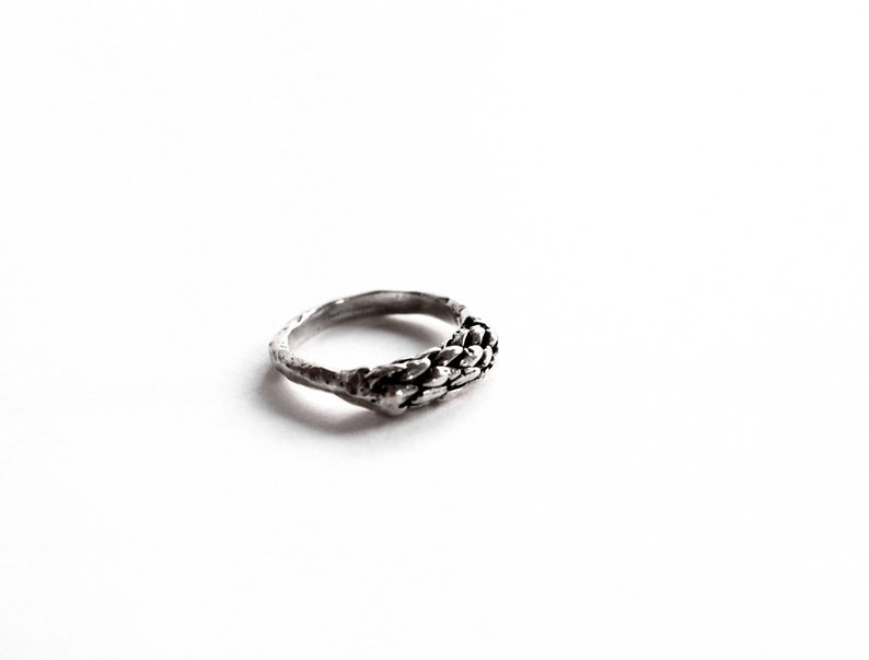 15308b24cfa Mens silver minimal ring witch jewelry