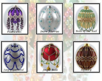 The Bejeweled Book 2 Ornament Cover Collection PDF Pattern Book By Michelle Skobel
