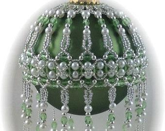 Veiled Beauty Ornament Cover PDF Pattern By Michelle Skobel