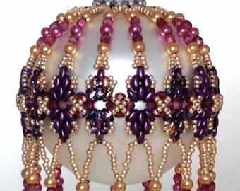 Diamond Duo Ornament Cover PDF Pattern By Michelle Skobel