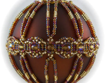 Infinity Ornament Cover PDF Pattern By Michelle Skobel