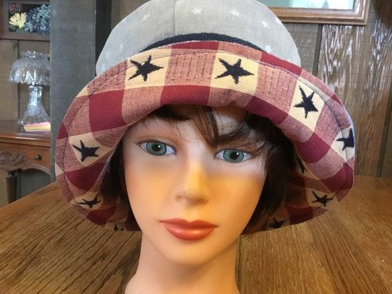 Upcycled Denim Bucket Hat Chemo Hats Denim Upcycled  ce1282505c71