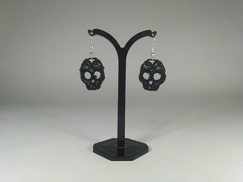 tricorn Lace pirate set eyepatch /& earrings
