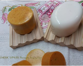 Tumeric and Ginger Theraupetic Soap by Eleni