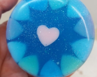 Blue Memories and Pure Seduction Luxurious Handmade Glycerine soaps by Eleni Xειροποιητα σαπουνια πολυτελειας