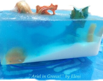 Ariel in Greece and Ariel 3 Once Upon a Time soap series by Eleni