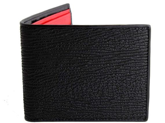 Slim Men/'s Money Clip Pocket Minimalist Genuine Leather Mens Vintage Wallet BN