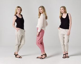 Elastic-Waist Pants Sewing Pattern