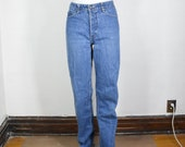 Vintage High Waisted Trousers, Sailor Pants, Jeans vintage Calvin Klein jeans 26 x 34 70s 80s straight leg made in USA womens $50.00 AT vintagedancer.com