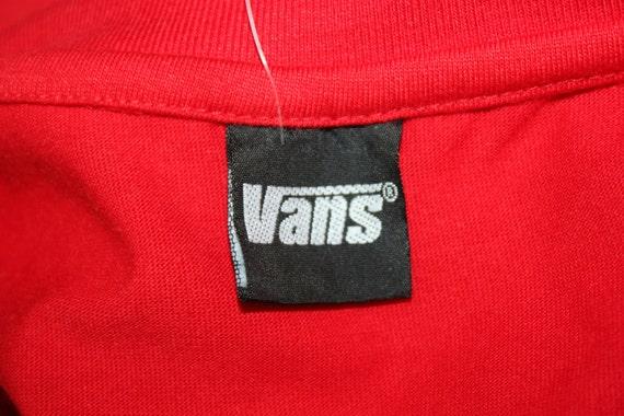 Vintage Vans t shirt MLXL