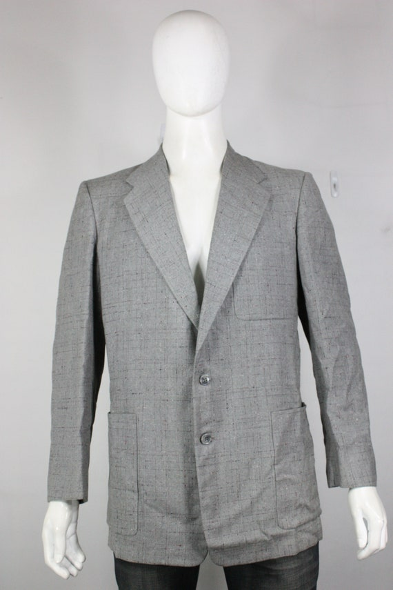 vintage 50's fleck wool blazer 40