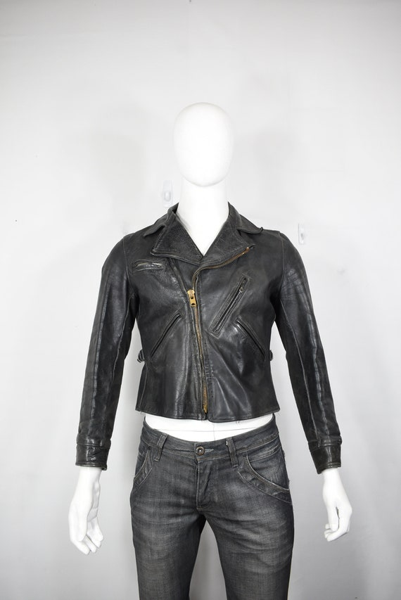 vintage Sport Togs horsehide jacket S 30's leather