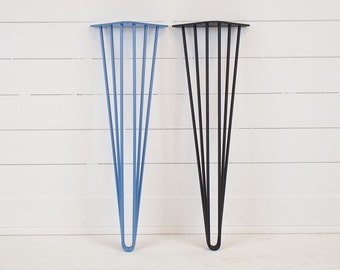 Triple Hairpin Table Legs- Set of 4