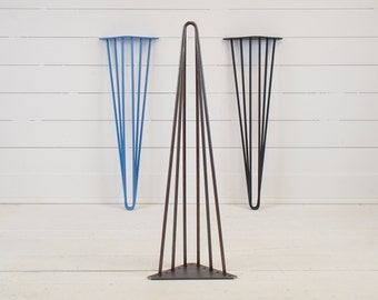 Hairpin Table Legs- Triple- Set of 4