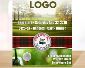 d10ff1f7d01 Golf Tournament Template for Poster or Flyer in Photoshop