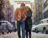 Rare Original 39 65 Freewheelin 39 BOB DYLAN Columbia Records U.S. Stereo Vinyl Press Lp Near MINT Red 39 360 Sound 39 Labels Folk Rock Classic