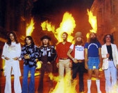 Original 39 77 LYNYRD SKYNYRD Street Survivors MCA Records U.S. Vinyl Press Lp Rare Withdrawn Ill-Fated Flames Cover w Inserts Rock Classic