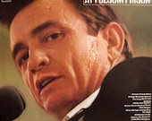 Rare Original 39 68 JOHNNY CASH at Folsom Prison Columbia Records U.S. S Vinyl Press LP Red Label 360 Sound Live Country Classic June Carter