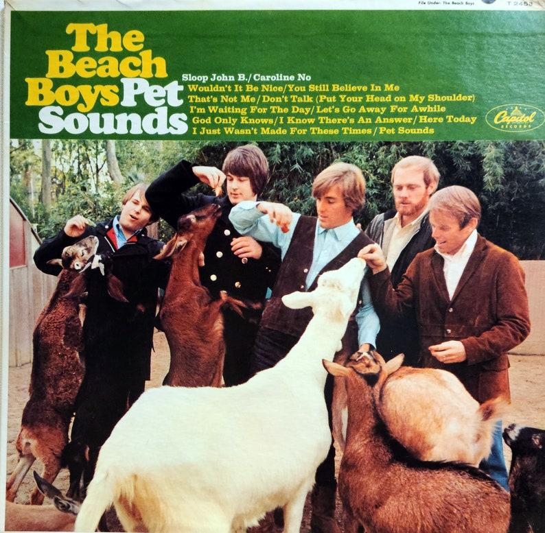 Rare Original '66 The Beach Boys PET SOUNDS Capitol image 0
