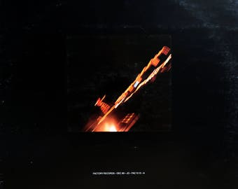 "Rare Original '80 JOY DIVISION Transmission b/w/ Novelty FACTORY Records Imported British 12"" Vinyl Press Single L@@K! Ian Curtis Post Punk"