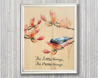 A little bird 02