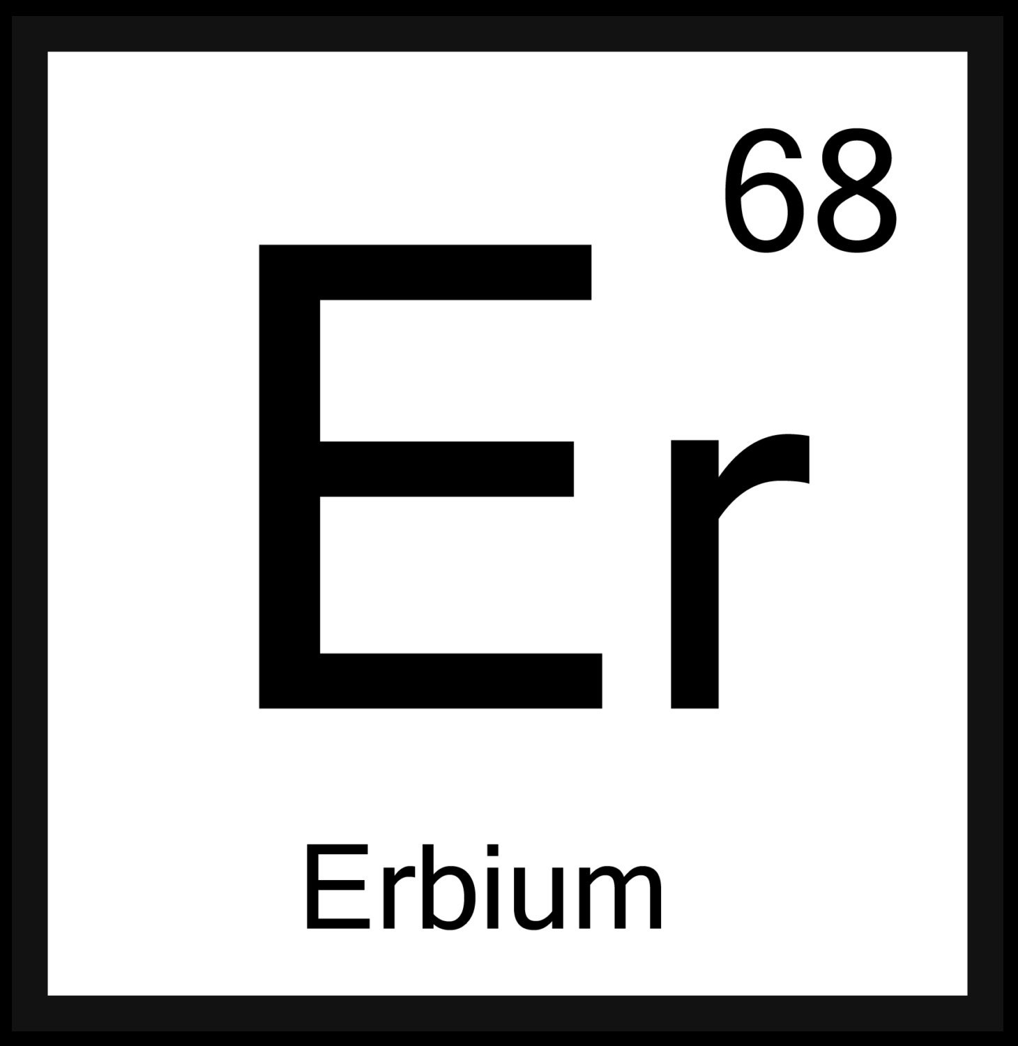 Science alphabet periodic table letters black and white 90 this is a digital file urtaz Gallery