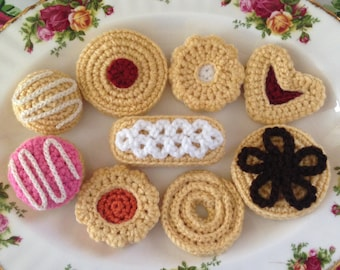 Afternoon Tea Time Delights Crochet Pattern