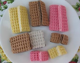 Wafers! Crochet Pattern