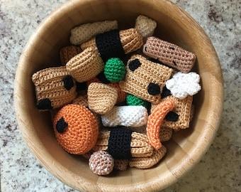 Japanese Rice Cracker Crochet Pattern