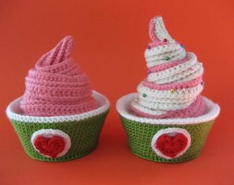 Frozen Yogurt Time! Crochet Pattern