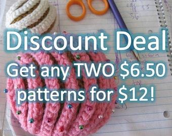 Discount Deal #2 Crochet Patterns
