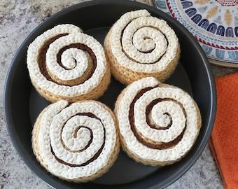 Cinnamon Roll Crochet Pattern