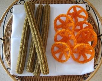 Churros y Duritos Crochet Pattern