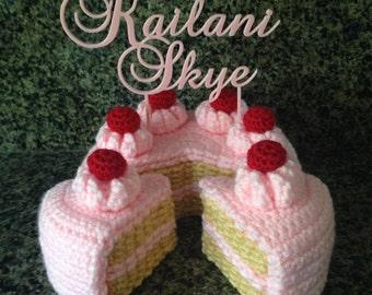 No-Stuff 2-Layer Cake Crochet Pattern