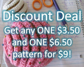 Discount Deal #3 Crochet Patterns