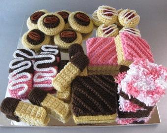 Party Treats Platter Crochet Pattern