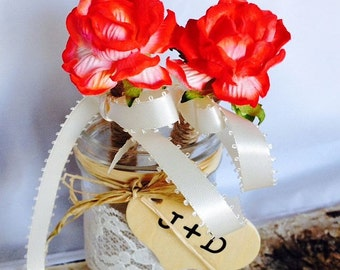 Rustic Wedding Guest Book Pen or Sharpie - Rustic Wedding - Shabby Chic Wedding - Rose Flower Pen - Wedding Pen - Flower Pen or Sharpie