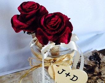 Rustic Wedding Guest Book Pen or Sharpie Rustic Wedding - Shabby Chic Wedding - Rose Flower Pen - Wedding Pen - Flower Pen - Wedding Sharpie