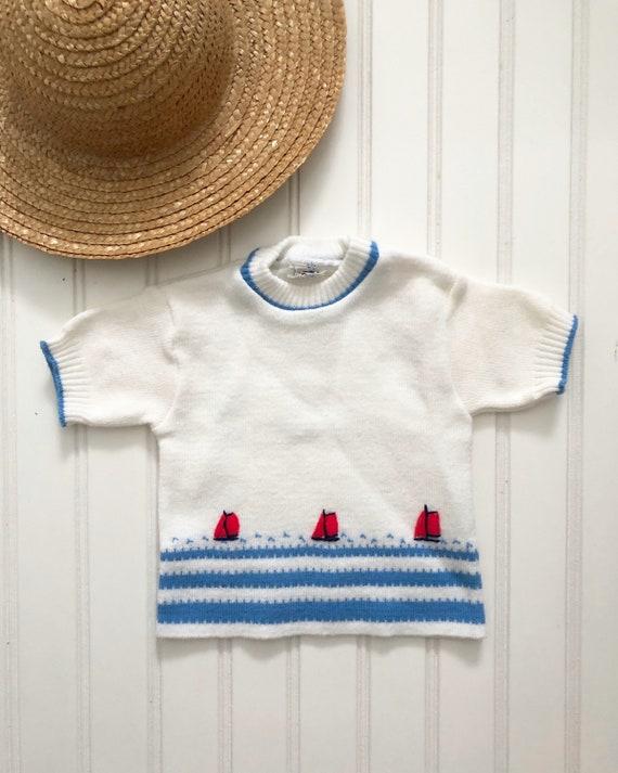 Vintage Boy/'s Knit Sweater Corduroy Pantsvintage baby clothestoddler clothesboys pants24 monthsvintage sweaterboy/'s corduroy/'s