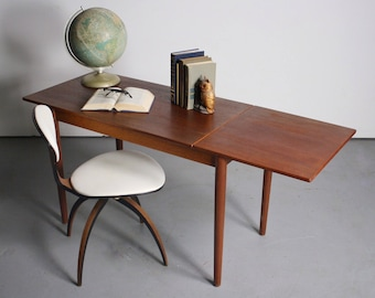 2a0d4db79a5a7 ON SALE - Sleek and Simple Arne Vodder Danish Modern Writing Desk