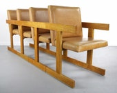 Set of 4 Dining Chairs in the Manner of Jens Risom