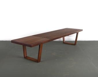 Wondrous Slat Bench Etsy Andrewgaddart Wooden Chair Designs For Living Room Andrewgaddartcom